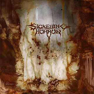 SICKENING HORROR - When Landscapes Bled Backwards (CD)
