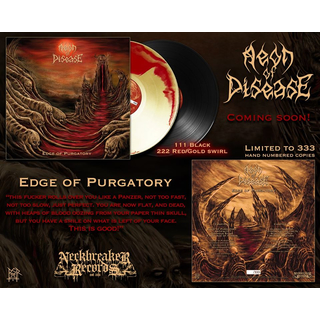 AEON OF DISEASE - Edge Of Purgatory (12 Gatefold LP)