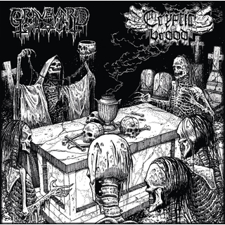 GRAVEYARD GHOUL / CRYPTIC BROOD - The Graveyard Brood (CD Split)