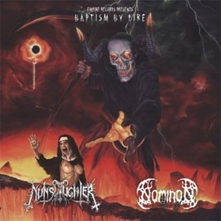 NUNSLAUGHTER / NOMINON - Baptism By Fire (7 Split EP)