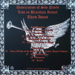 BLASPHEMY - Desecration of São Paulo - Live in Brazilian Ritual Third Attack (CD)