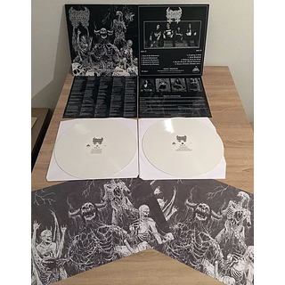 MORBID MESSIAH - Demoniac Paroxysm (12 LP) white