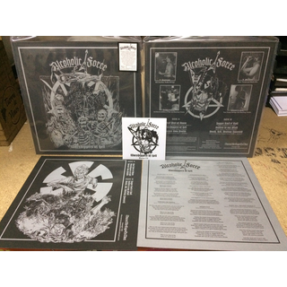 ALCOHOLIC FORCE - Worshippers Of Hell (12 LP + CD)